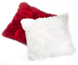 "Hua Alpaca Fur Pillow Covers, 24"" x 24"" - 60 x 60 cm"