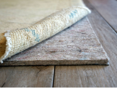 Custom Cut Eco-Cushion non-slip rug pad - Our Eco-Cushion pads are the ultimate luxury rug pad solution!