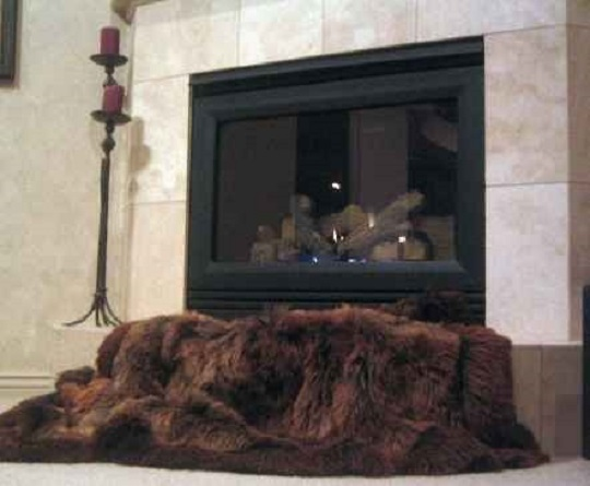 Custom Sable Brown Suri Alpaca Fur Throw/ Rug - Alpaca fur, Alpaca fur rug, Alpaca rugs, fur rug