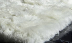 Suri Alpaca Fur Throw Rugs, 3' x 5' - 90 x 150 cm